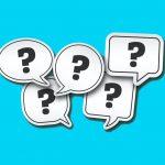 שאלות ותשובות בנושא הקורונה: סימני שאלה בתוך בועות דיבור ומחשבה