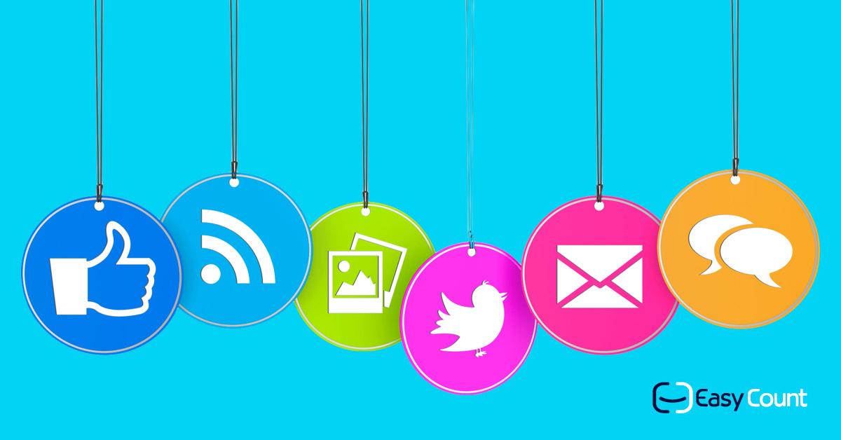 עיצוב הרשתות החברתיות: לוגואים של הרשתות המובילות